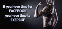 No excuses!