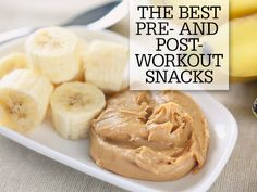 The Best Pre- and Post- Workout Snacks - Don't let all of your hard work at spin class go to waste by eating or drinking things that won't make you feel—and look—your best. These superfoods will help you power through a tough sweat session and leave you ready for more tomorrow.