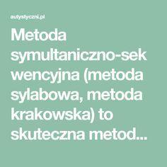 Metoda symultaniczno-sekwencyjna (metoda sylabowa, metoda krakowska) to skuteczna metoda nauki czytania opracowana przez doświadczonego logopedę prof. Jagodę