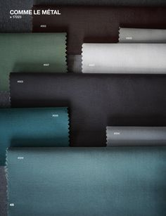 Dominique Kieffer by Rubelli 2015 Collection  Catalogue for the 2015 Collection by Paola Navone