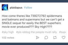 Sky High; tumblr