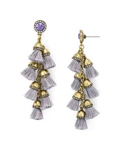"Baublebar Firenze Drop Earrings | Imported | 3"" drop 