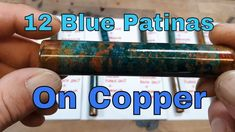 Testing Blue Patinas on Copper - Part 3 of 3 - Results In this video I finish the first batch of my blue copper patina tests. Copper Casting, Test Video, Copper Tubing, Blue And Copper, Metals, Give It To Me, It Cast