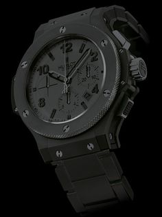 Black Hublot Watch