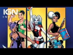 DC Unleashes 'Harley Quinn and Her Gang of Harleys' - IGN News - YouTube