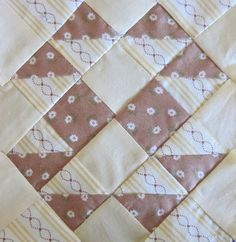 One of the many blocks I love from The Farmers Wife sampler book. #quilt