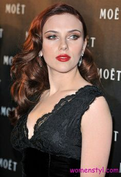Scarlett Johansson Red-hair - Auburn Hair