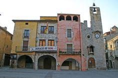 middeleeuwse dorpen in het achterland van de Costa Brava in Catalonie, oa torroella de Montgri, Pals, Peratallada. Mooie kerkjes, oude straatjes, middeleeuws centra, oude huizen, paleizen
