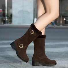 Mid Calf Shoes, Ladies through our vast selection of design.  #Brownanklebootsoutfit Brown Ankle Boots Outfit, Mid Calf Boots, Ladies Slips, Peep Toe, Slip On, Booty, Lady, Heels, Women