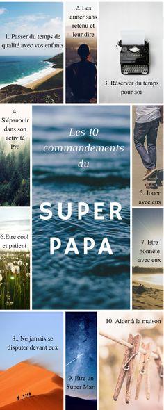 10 commandements du super papa