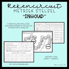 Werken met een rekencircuit in de klas als een pro! 1: de organisatie - Math Skills, Scandal Abc, Math Classroom, Kids Education, Circuit, The Unit, Journal, Teaching, School