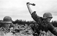One of the most iconic photos of WWII during the invasion of Poland.