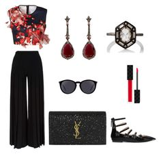 """""""sunday"""" by cheryl-yih on Polyvore featuring Fendi, Clover Canyon, Marco de Vincenzo, Yves Saint Laurent, Annoushka, Gucci and Cathy Waterman"""