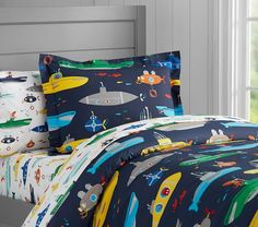 Submarine Duvet Cover | Pottery Barn Kids