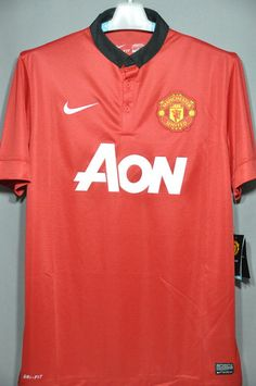 Manchester United Soccer Jersey Football Shirt 2014 EPL BPL English Premier  League Euro Champion League 97a523ab08d74