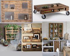 Idées de meubles en bois de palettes