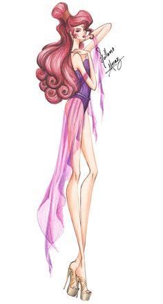 Princesas Fashion por Guillermo Meraz - Megara.
