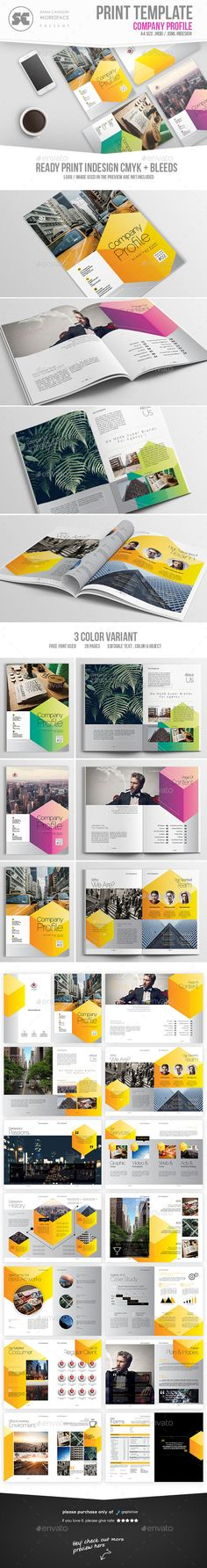 Corporate Brochure Company Profile 1 u2026 Pinteresu2026 - professional business profile template