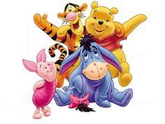 "Piglet, Tigger Pooh, and Eeyore. ""Winnie the Pooh and Friends"" Disney Winnie The Pooh, Winnie The Pooh Quotes, Winnie The Pooh Friends, Eeyore, Pintar Disney, Disney Pixar, Walt Disney, Pooh Baby, Whatsapp Pink"