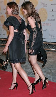 Princess Caroline n daughter - 'Valentino In Rome, 45 Years Of Style' Exhibition Opening 7-6-07