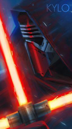 New Villains by oseoro - Kylo Ren #starwars #fanart