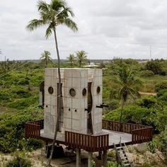 Bahia House in Brazil by Gaetano Pesce - Strange Houses, Weird Houses, Unusual Houses & Homes from Around the World