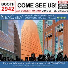 AIA 2014 Convention! - http://www.avenerecladding.com/aia-2014-convention/