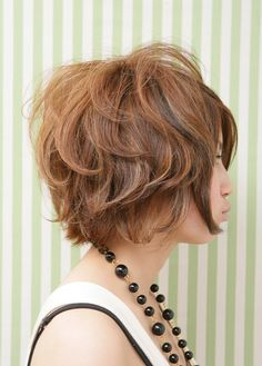 short curly bob - wonder how my hair looks short