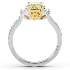 Shop designer jewelry with me on Truefacet. Free Jazz, 3 Stone Rings, White Gold Diamonds, Diamond Engagement Rings, Jewelry Design, Fancy, Shopping, Diamond Engagement Ring
