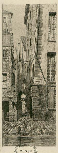 Rue du Paon blanc 1840