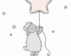 Custom Listing for Krista Lamb Nursery Art от SweetMelodyDesigns