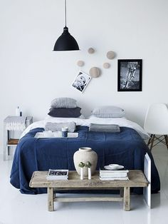 blue mood via Interior Break