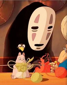 15cm-Studio-Ghibli-Spirited-Away-No-face-Faceless-Knit-Plush-Doll-NEW.jpg (435×549)