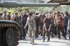 Zombies from The Walking Dead Season 4.5