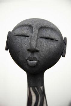 Ceramics by Sue Hanna Ceramic Decor, Ceramic Clay, Ceramic Pottery, Ceramic Figures, Ceramic Artists, Abstract Sculpture, Sculpture Art, Cerámica Ideas, Sculptures Céramiques