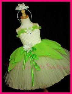 Tiana (Princess and the Frog) Inspired Tutu Dress