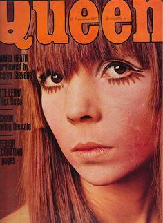 Queen Magazine 22 November 1967. Penelope Tree on cover
