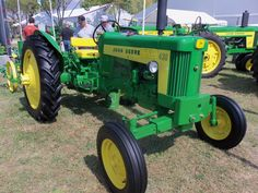 JOhn Deere 430 with corn planter