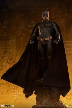 Batman Premium Format(TM) Figure | Sideshow Collectibles Batman Begins, Christian Bale, Sideshow Collectibles, Dark Knight, Gotham, Dc Comics, Color Pop, Movie Tv, How To Memorize Things