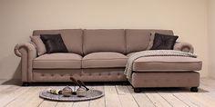San Remo chesterfield lounge- en hoekbank sofa fauteuil hocker