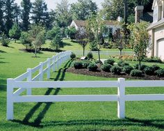 Modern vinyl fencing provides a low maintenance, long lived solution to backyard privacy fencing that blends more naturally into the landscape. Description from landscapingnetwork.com. I searched for this on bing.com/images