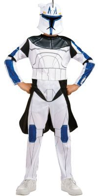 Star Wars Clone Wars Clone Trooper Childu0027s Deluxe Captain Rex Costume | Halloween Costume Ideas | Pinterest | Star wars clone wars Clone trooper and ...  sc 1 st  Pinterest & Star Wars Clone Wars Clone Trooper Childu0027s Deluxe Captain Rex ...