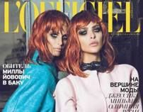 L'OFFICIEL october issue by Mamuka Kikalishvili