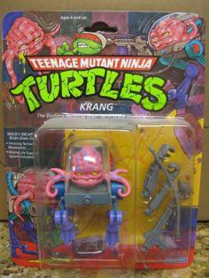Vintage Teenage Mutant Ninja Turtles Krang moc 1989