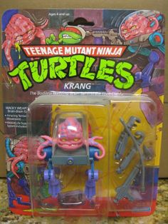 Vintage Teenage Mutant Ninja Turtles Krang moc 1989