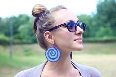Crochet earrings  Серьги крючком