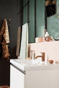 Kupfer im Badezimmer