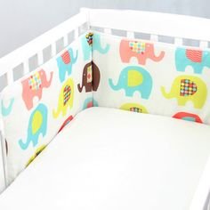 Výstelka do postýlky Sweet Elephants Mr Fox, Elephants, Toddler Bed, Sweet, Furniture, Home Decor, Child Bed, Candy, Decoration Home