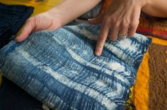 nuno felting. A lesson by Gaia Girard. One of the things that most fascinate me about nuno felting is that there are no set rules or ...