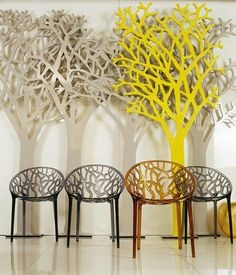 Poly carbonate chairs